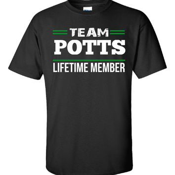 Team POTTS Lifetime Member - Unisex Tshirt