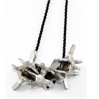 "Unisex ""Vertebrae"" Necklace by Rocklove Jewelry"