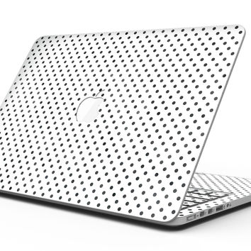 Black and Gray Fade Polka Dots - MacBook Pro with Retina Display Full-Coverage Skin Kit
