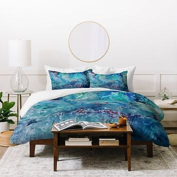 Rosie Brown Diver Paradise Duvet Cover