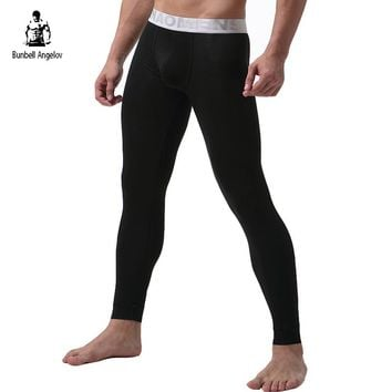 Underwear Winter Mens Warm Thermal Underwear Modal Long Johns Underpants Letter Thermal Underwear For Men 2017