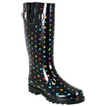 Western Chief Ladies' Ditsy Dot Rain Boot - For Life Out Here