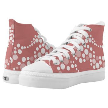 Women High Top Shoes Printed Shoes
