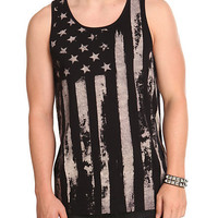 RUDE American Flag Tank Top | Hot Topic