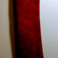Red Marble Seat Belt Cover