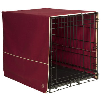 Classic Crate Cover in Burgundy