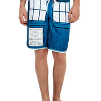 Doctor Who TARDIS Swim Trunks