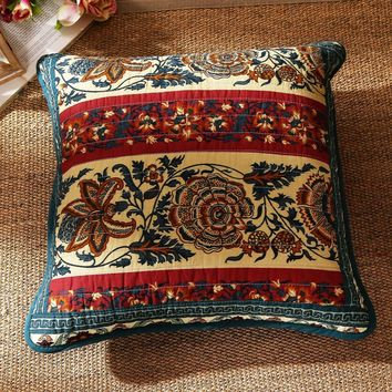 "DaDa Bedding Set of Two Dark Elegance Bohemian Cushion Covers - 2 PCS - 18"" (JHW-550)"