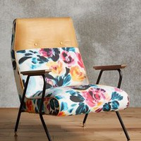 Quentin Chair, Vivid Floral by Anthropologie in Multi Size: One Size Furniture