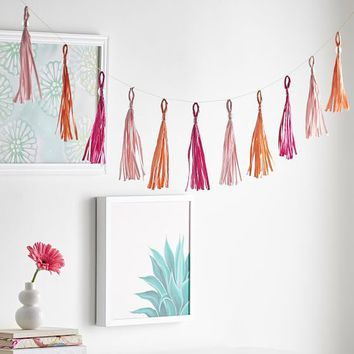Tassel Garland, Warm