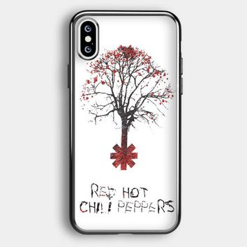 Tree Of Red Hot Chili Peppers iPhone XS Max Case | Casefruits