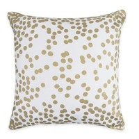 The Vintage House by Park B. Smith Confetti Square Throw Pillow