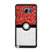 Pokemon Pokeball Sparkle bd464e06-ee20-457a-976e-692e8cf096e1 FOR Samsung Galaxy Note 5 CASE *RA*