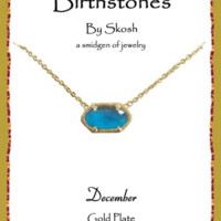Skōsh Birthstone December
