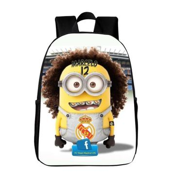 Boys Backpack Bag New Arrivals 16 Inches Oxford Printing Cartoon Hero Kids Baby School Bags Women  Schoolbag Children Student Bag AT_61_4