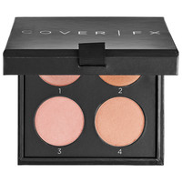 Sephora: COVER FX : The Perfect Light Highlighting Palette : luminizer-luminous-makeup