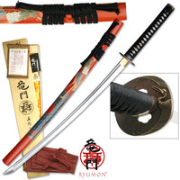 RYUMON - HAND FORGED HIGH CARBON KATANA SWORD