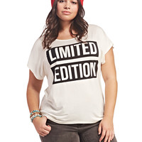 Limited Edition Tee | Wet Seal+