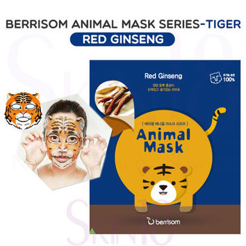 Berrisom Animal Mask series - Tiger (Red Ginseng)