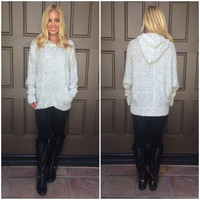 Snow Storm Thick Knit Hoodie