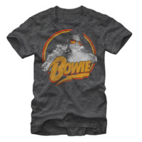 Licensed David Bowie Men's Tee Shirt Clothing -1