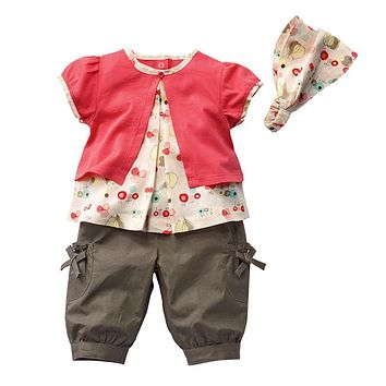 Summer Baby Girls Clothing Sets Fashion Newborn Baby Clothes Toddler Baby Girl Clothes Roupa Infant Jumpsuits Baby Rompers