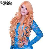 """Cosplay Wigs USA™ <br> Curly 90cm/36"""" - Dusty Pink -00323"""