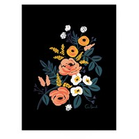 Midnight Rose Art Print by RIFLE PAPER Co. | Made in USA