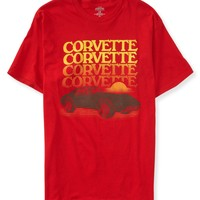 Aeropostale  Mens Chevy Corvette Echo Graphic T-Shirt