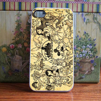 Disney Collage old princess for iPhone and Samsung galaxy case (available for iPhone 6 case)