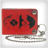 Harley Quinn Biker Chain Wallet - Spencer's