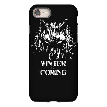 game of thrones direwolf winter is coming iPhone 8