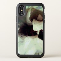 Cool bloomed White flower texture Speck iPhone X Case