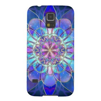 beautiful vintage design blue galaxys5 case for galaxy s5
