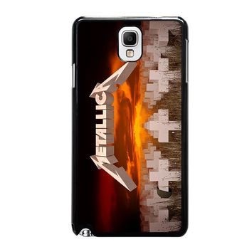 METALLICA MASTER OF PUPPETS Samsung Galaxy Note 3 Case Cover