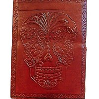 Day of the Dead Leather Journal - Spencer's