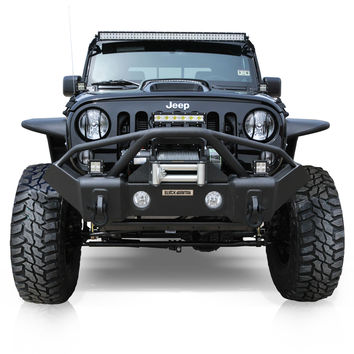STAGE II Recovery Bumper - Black Mountain Jeep