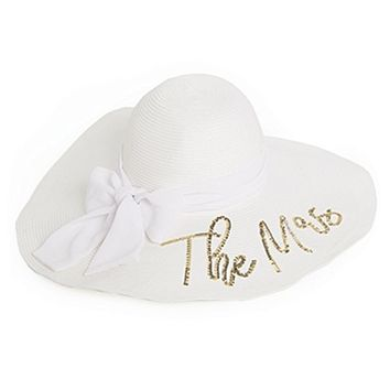 Honeymoon Sequin Floppy Hat