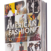 Assouline Publishing American Fashion Hardcover Book