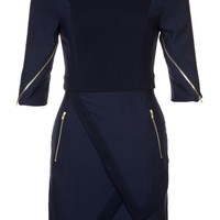 Finders Keepers I'VE BEEN LOVING L/S DRESS - Jersey dress - blue - Zalando.co.uk