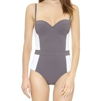 Tory Burch Lipsi One Piece Swimsuit