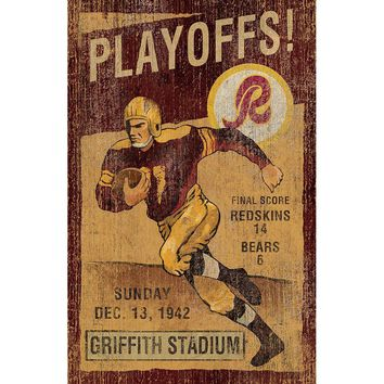 Washington Redskins NFL Vintage Wall Art