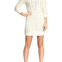 Women's Cable-Knit Sweater Dresses