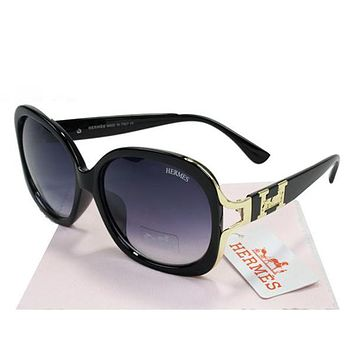 Hermes Women Casual Popular Summer Sun Shades Eyeglasses Glasses Sunglasses