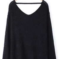 'The Melissa' Cut-Out Pullover Sweater