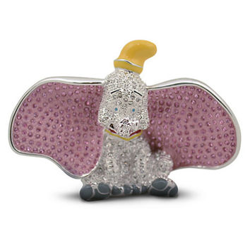 Disney Parks Dumbo Jeweled Figurine by Arribas Brothers New with Box