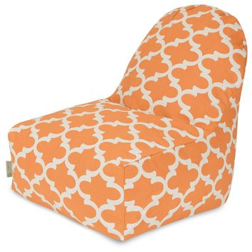 Peach Trellis Kick-It Chair