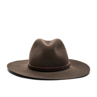 Rag & Bone Wide Brim Fedora in Brown | FWRD