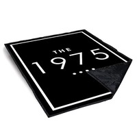 The 1975 Black Blanket, the 1975 band blanket Blankets & Throws - Bedding