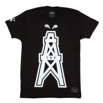 Men's Oil Rig T-Shirt (Black)